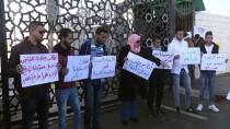 REFAH SINIR KAPISI - Gazze'de Refah Sınır Kapısı'nın Açılması İçin Gösteri