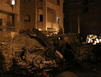 Suriye'de peş peşe patlama