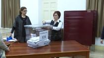 SEÇIM SISTEMI - KKTC'de Oy Verme İşlemi Sona Erdi