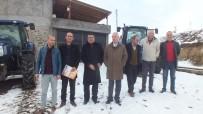 GÜBRE - Malazgirt Ziraat Odası Başkanı Kılıç'tan Köy Ziyaretleri