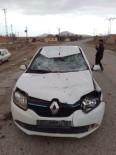 Otomobil Üzerinde Binicisi Olan Ata Çarptı Açıklaması 1 Yaralı