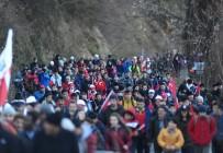TELEFERIK - Sarıkamış Şehitleri Bursa'da Yürüyüşle Anıldı