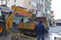 ALT YAPI ÇALIŞMASI - Söke Koçlar Caddesinde Düzenleme Çalışmalarına Başlandı