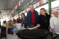 ATMOSFER - Tarhan, Kadın Üretici Pazarını Ziyaret Etti