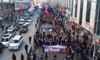 EDREMIT BELEDIYESI - Van'da 'Gençlik Şühedanın İzinde' Yürüyüşü