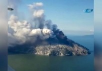 PAPUA YENI GINE - Volkanik Patlamalar Nedeniyle Ada Boşaltıldı