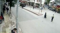 CAHAR DUDAYEV - Afyonkarahisar'daki Trafik Kazaları MOBESE Kameralarına Yansıdı