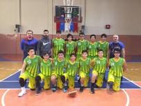 BAHÇEŞEHIR - Başak Kolejii'nin Yıldız Erkekleri Şampiyonluğa Bir Adım Daha Yaklaştı