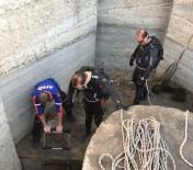 Burdur'da Su Kanalında Mahsur Kalan45 Karabatak Kurtarıldı