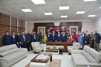KÜLTÜR BAKANLıĞı - Çaturoğlu'ndan Başkan Uysal'a Ziyaret