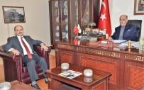 ADNAN DEMIR - DAP Başkanı Demir'den, Başkan Yücelik'e Ziyaret