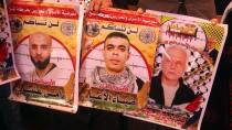 KIZILHAÇ KOMİTESİ - Gazze'de Filistinli Tutuklulara Destek Gösterisi