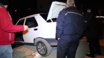 ULUBATLı HASAN - Hırsızlık Zanlıları Kaza Yapınca Yakalandı