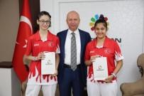 SPOR TOTO - Kocasinanlı Milliler, Çift Bayanlarda Türkiye Şampiyonu Oldu
