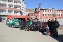 FATİH DÜLGEROĞLU - Kulp Belediyesi Pasur Belediyespor'a Son Model Araç Tahsis Etti