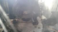 Midyat'ta Kazan Dairesinde Yangın