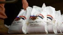 YARDIM MALZEMESİ - Rus Askeri Suriye'de Yemek Dağıttı