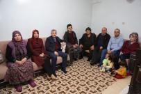 ÇAMAŞIR MAKİNASI - Tahmazoğlu Aile Ziyaretlerini Sürdürüyor