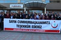 TOPLU SÖZLEŞME - Taşeron İşçilerden Cumhurbaşkanı Erdoğan'a Teşekkür