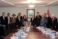 TURIZM YATıRıMCıLARı DERNEĞI - Turizmciler, Başbakan Yardımcısı Mehmet Şimşek'e Taleplerini İletti