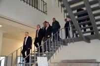 LEVENT KıLıÇ - Vali Ceylan Çok Amaçlı Salon İnşaatını İnceledi