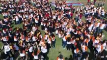 GUINNESS REKORLAR KITABı - 2 Bin 791 Öğrencinin Oluşturduğu 'Çipura Figürü' Rekorlar Kitabında