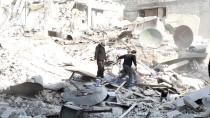 REJIM - Ablukadaki Doğu Guta'ya Saldırılar Sürüyor