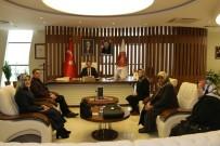 AK Parti Kadın Kolları Başkanı Bilgiç, Rektör Bağlı'yı Ziyaret Etti