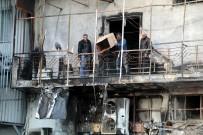 KAZIM ÖZALP - Antalya'da İş Hanında Yangın