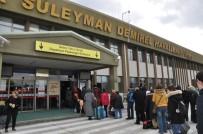Aralık Ayında SDÜ Havalimanında 7 Bin 659 Yolcuya Hizmet Verildi
