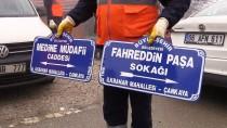 İLKBAHAR - BAE Büyükelçiliğinin Sokağına 'Fahreddin Paşa' Tabelası Asıldı