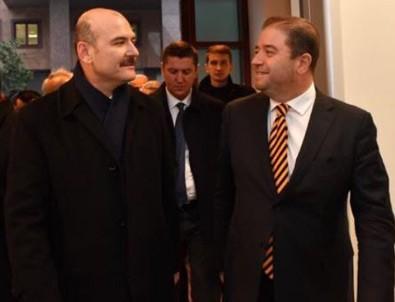 Bakan Soylu ve CHP'li Başkan yan yana