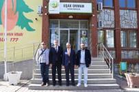 OKSIJEN - Başkan Cahan'dan Yalçın'a Ziyaret