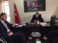 Başkan Parıldar'dan Müdür Bozyel'e Ziyaret