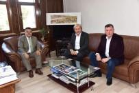 SELIM YAĞCı - Başkan Yağcı'dan Osmaneli Belediye Başkanı Şahin'e Geçmiş Olsun Ziyareti
