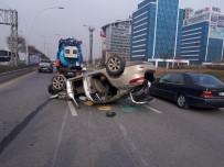 CUMHURİYET HALK PARTİSİ - Başkent'te Trafik Kazası Açıklaması 4 Yaralı
