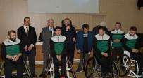 TEKERLEKLİ SANDALYE - Büyükşehir'den Tekerlekli Sandalye Basketbol Takımı'na Destek