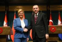 RADİKALLEŞME - Erdoğan-Kitaroviç Ortak Basın Toplantısı