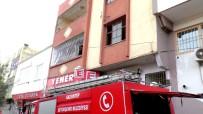 KURTARMA EKİBİ - Gaziantep'te Yangın Açıklaması 1 Ölü, 3 Yaralı