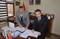 AHMET YAVUZ - Günyüzü Belediyesinde Sosyal Denge Tazminatı Sözleşmesi İmzalandı