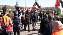 RAMALLAH - İsrail Askerlerinden Batı Şeria'daki Eylemlere Müdahale