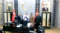 MUSTAFA ÇIÇEK - Kick Boks Federasyonu Güneydoğu Bölge Başkanı Erdoğan Kahta'da