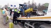Konya'da Trafik Kazaları Açıklaması 1 Ölü, 2 Yaralı