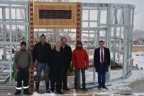 BAĞCıLAR BELEDIYESI - Mezarı Mekke'de Olan Babası Adına Tercan'da Mescit Yaptırıyor