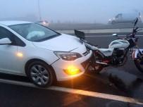 ÇAVUŞKÖY - Tekirdağ'da Trafik Kazası Açıklaması 1 Yaralı