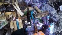 TELEFON KABLOSU - Teröristlere Bir Darbe Daha Açıklaması 1 Sığınak Ve Patlayıcı Ele Geçirildi