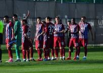 ARNAVUT - Trabzonspor, Luftetari'yi 2-1 Mağlup Etti