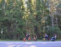 ÇEK CUMHURIYETI - 26 Ülke Gezen Bisikletli Gezgin Aile Tecrübelerini Paylaştı.