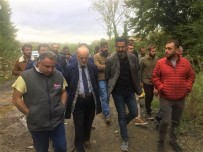 BEYKOZ BELEDİYESİ - Başkan Çelikbilek Sel Mağdurlarını Ziyaret Etti