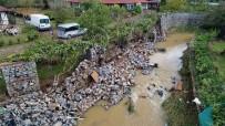 BEYKOZ BELEDİYESİ - Beykoz'da Sel Sonrası Son Durum Havadan Görüntülendi